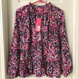 NWT Lilly Pulitzer Savanna Top - Small